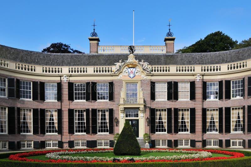 Kasteel in Holland royalty-vrije stock foto