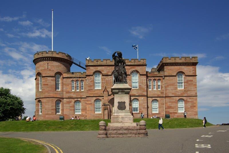 Kasteel in Inverness royalty-vrije stock afbeeldingen