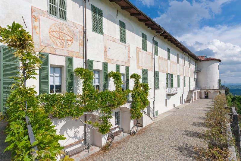 Kasteel Masino; Piemonte; Italië; Turijn, royalty-vrije stock foto