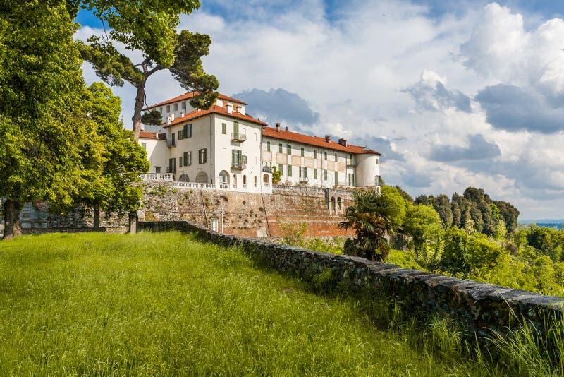 Kasteel Masino; Piemonte; Italië; Turijn, royalty-vrije stock foto's