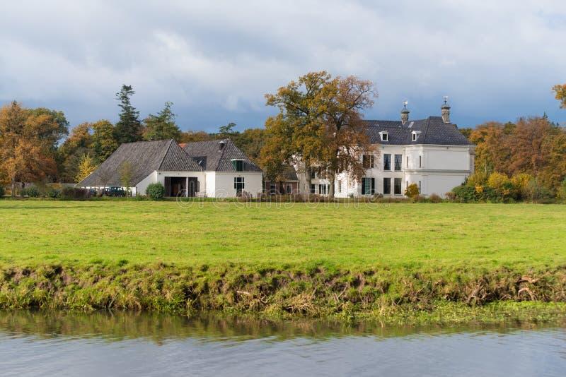 Kasteel in Nederland royalty-vrije stock afbeelding