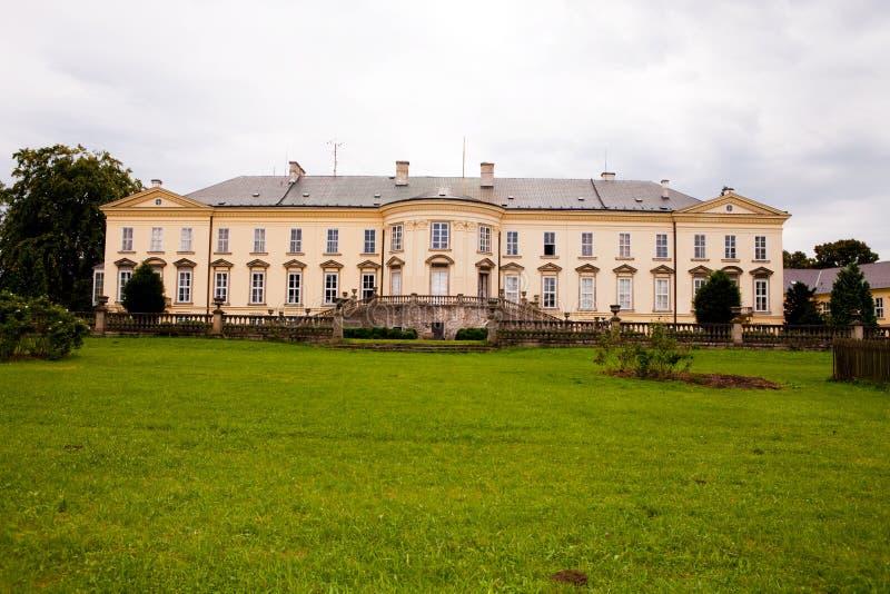 Kasteel Nove Hrady stock foto