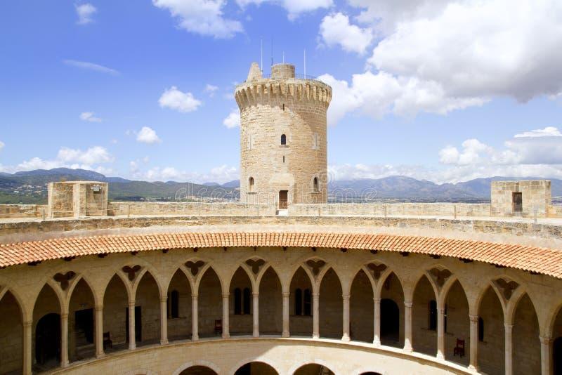 Kasteel in Palma van Mallorca stock fotografie