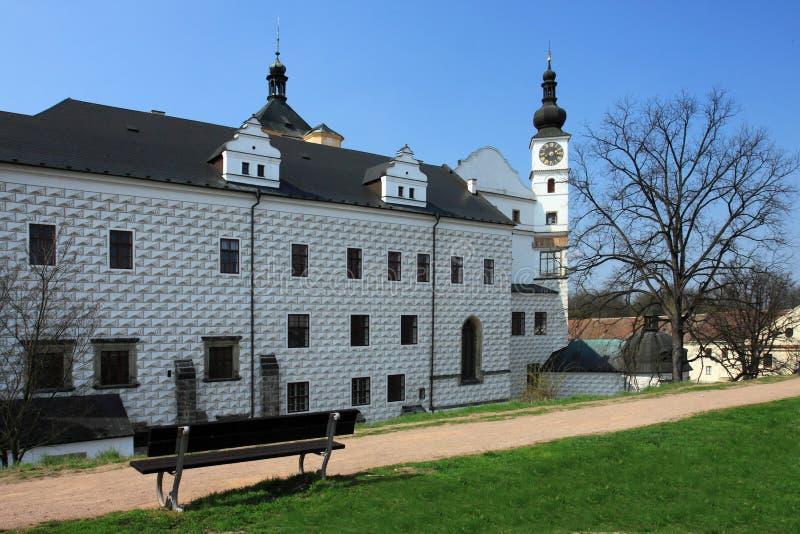 Kasteel Pardubice royalty-vrije stock afbeeldingen