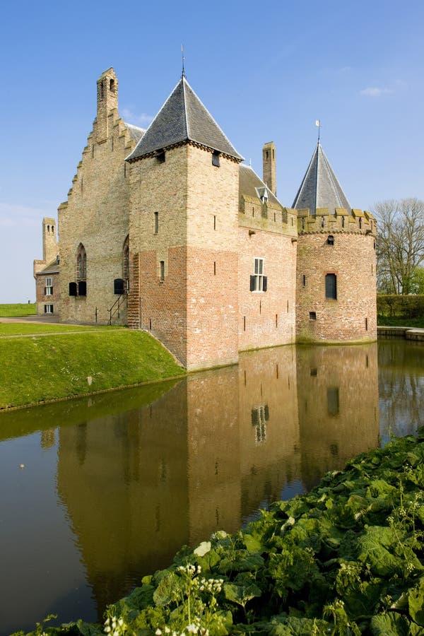 Kasteel Radbound, Medemblik, Нидерланд стоковые изображения
