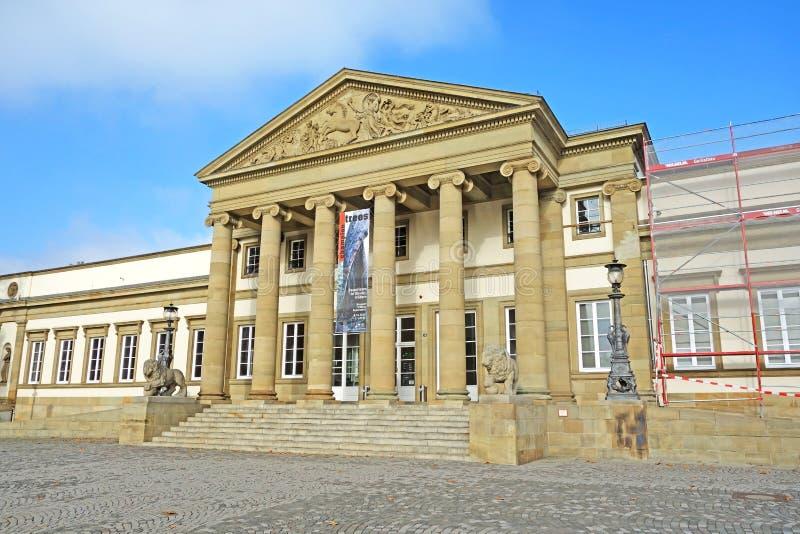 Kasteel Rosenstein, Stuttgart, Duitsland royalty-vrije stock fotografie