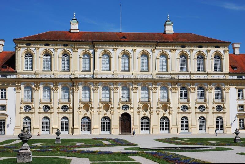 Kasteel SchleiÃheim (Duitsland) stock afbeeldingen