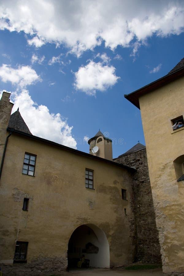 Kasteel Slowakije   royalty-vrije stock foto's