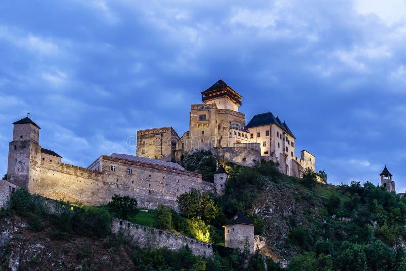 Kasteel in Slowakije royalty-vrije stock fotografie