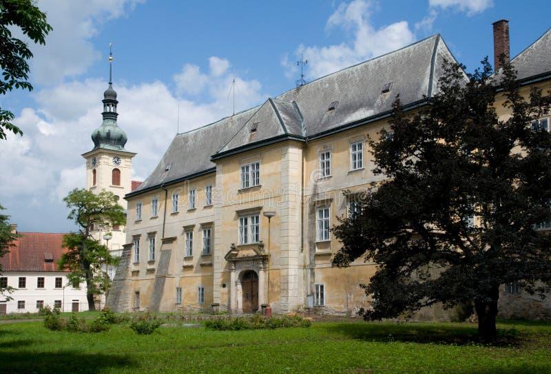Kasteel Smirice, Tsjechische republiek royalty-vrije stock fotografie