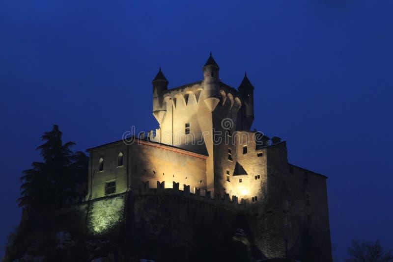 Heilige Pierre Castle stock foto's