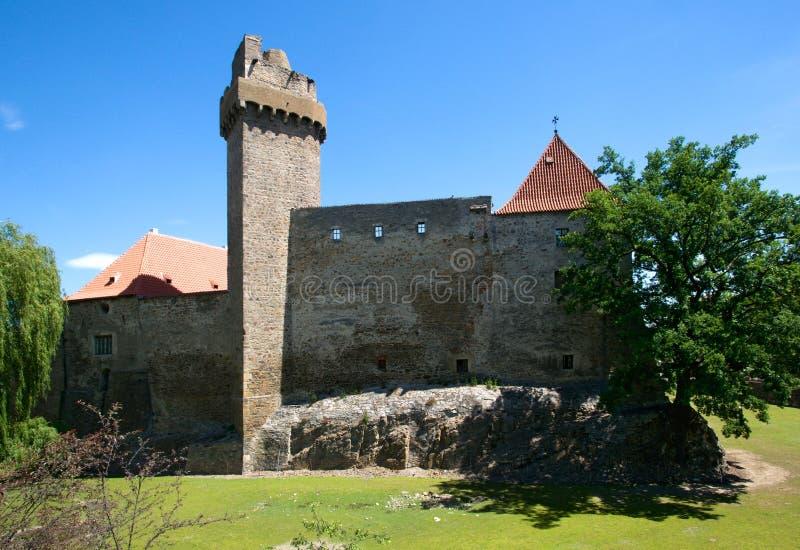 Kasteel Strakonice, Tsjechische Republiek royalty-vrije stock foto's