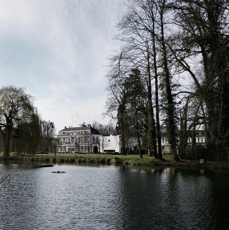 Kasteel Vaeshartelt,马斯特里赫特,荷兰 免版税库存照片