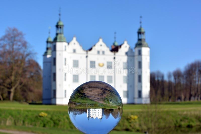 Kasteel van Ahrensburg stock fotografie