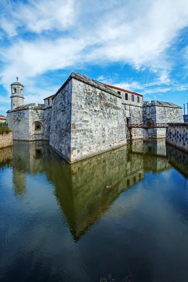 Kasteel van de Koninklijke Kracht (Castillo DE La Real Fuerza), vesting royalty-vrije stock foto