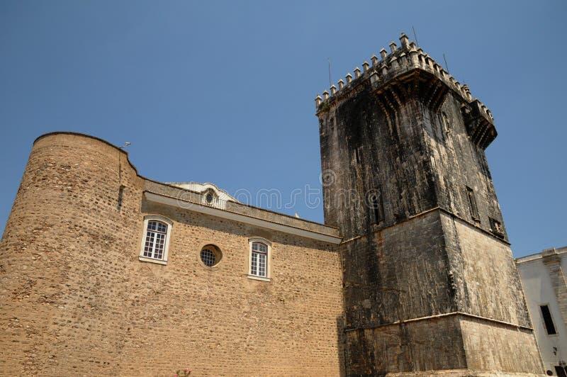 Kasteel van Estremoz royalty-vrije stock afbeeldingen