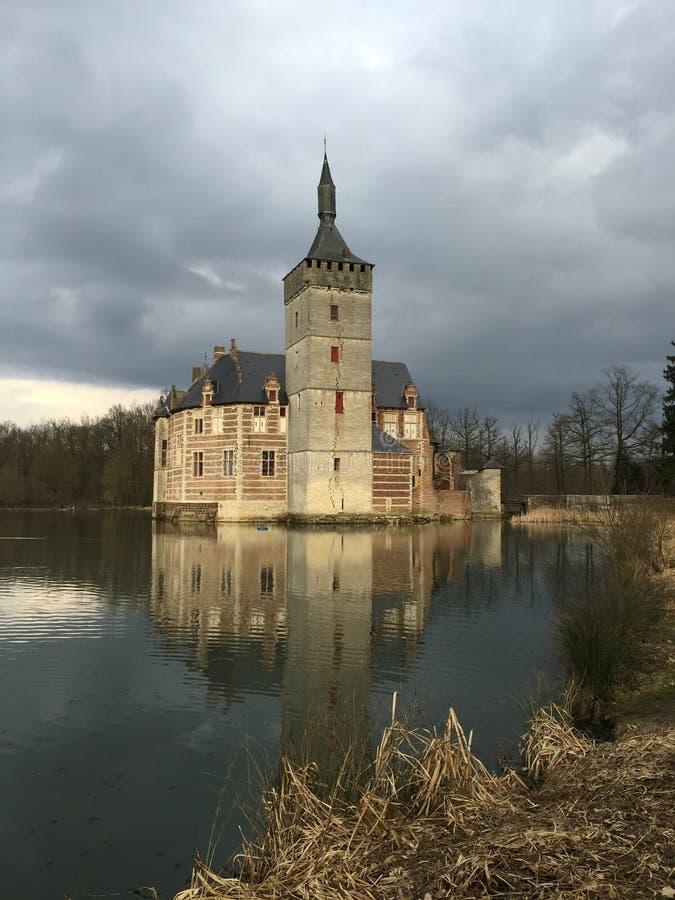 Kasteel van Horst, België stock fotografie