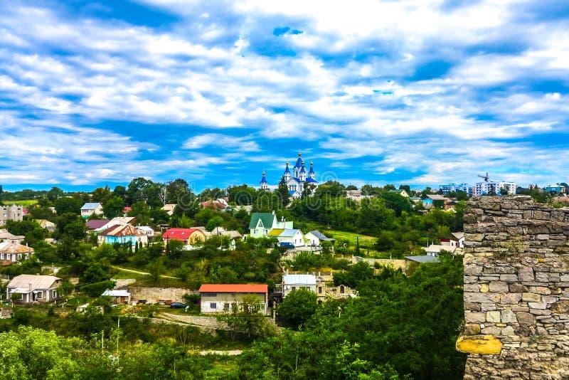 Kasteel 03 van Kamianetspodilskyi stock foto