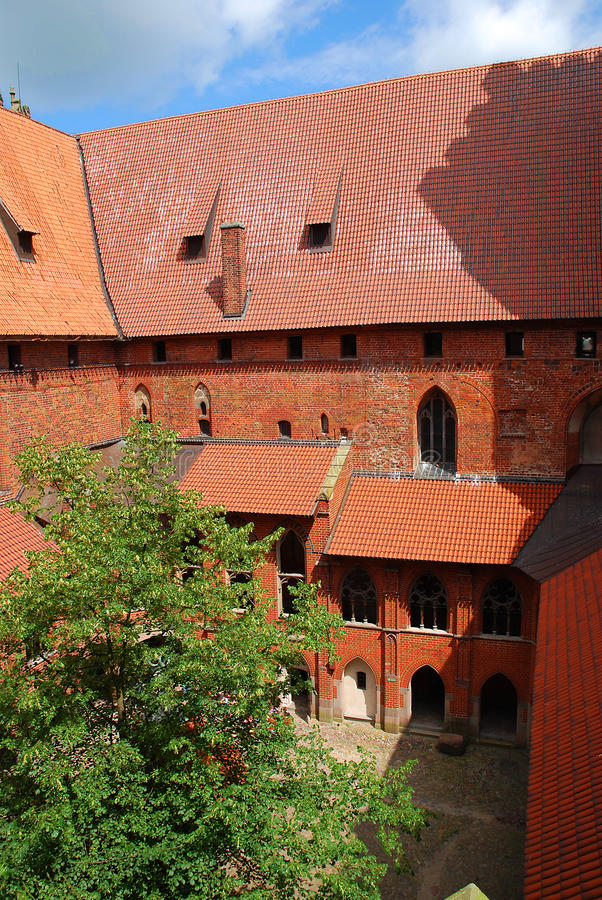 Kasteel van Malbork royalty-vrije stock fotografie