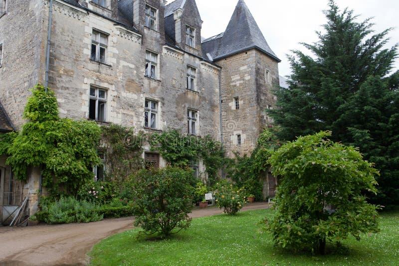 Kasteel van Montresor royalty-vrije stock foto