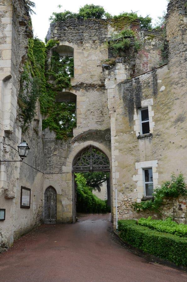 Kasteel van Montresor in de de Loire-Vallei, royalty-vrije stock afbeelding
