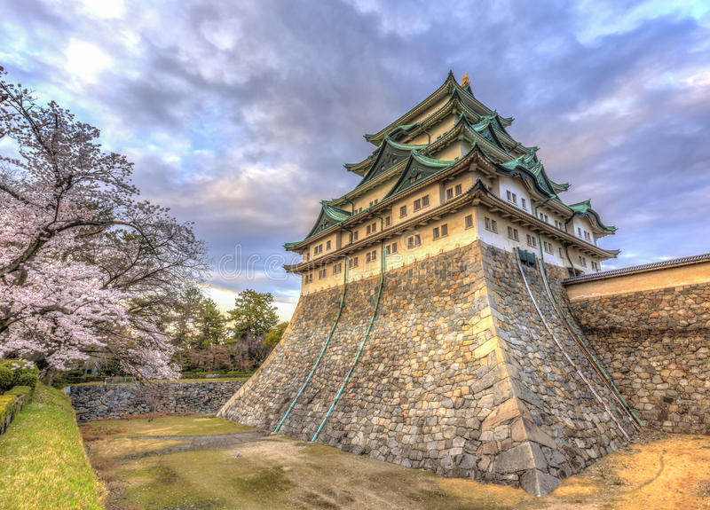 Kasteel 5 van Nagoya royalty-vrije stock fotografie