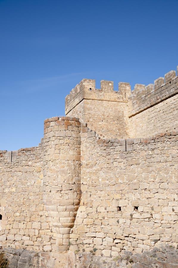 Kasteel van Pedraza royalty-vrije stock foto
