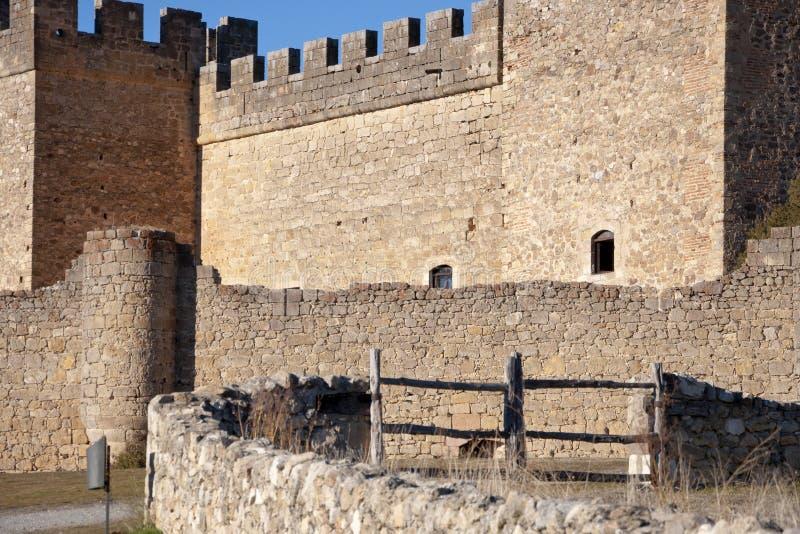Kasteel van Pedraza royalty-vrije stock foto's