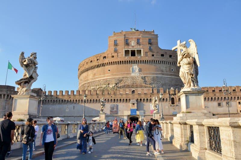 Kasteel van Sant Angelo royalty-vrije stock fotografie