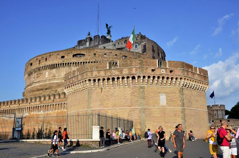 Kasteel van Sant Angelo stock foto's