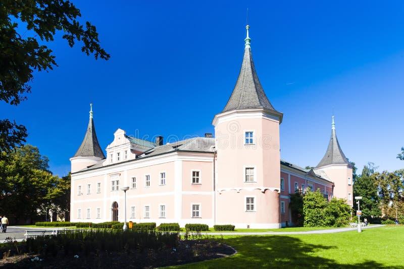 kasteel van Sokolov, Tsjechische Republiek stock foto