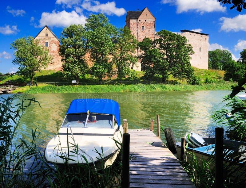 Kastelholm Kasztel, Aland, Finlandia zdjęcie royalty free