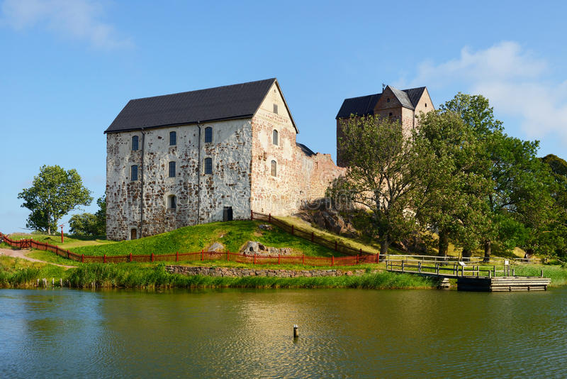 Kastelholm slott royaltyfria foton