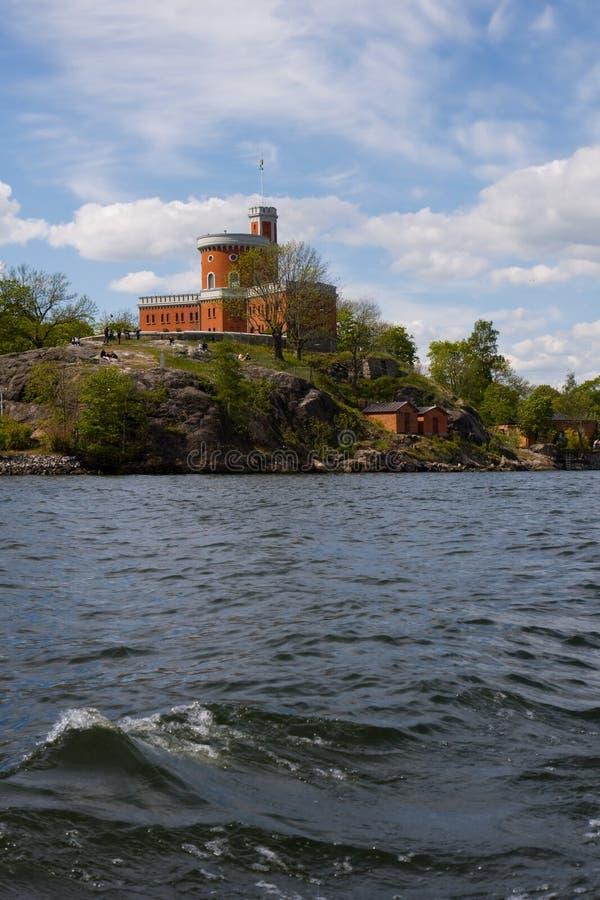 kastellet μικρή Στοκχόλμη κάστρων στοκ φωτογραφία με δικαίωμα ελεύθερης χρήσης