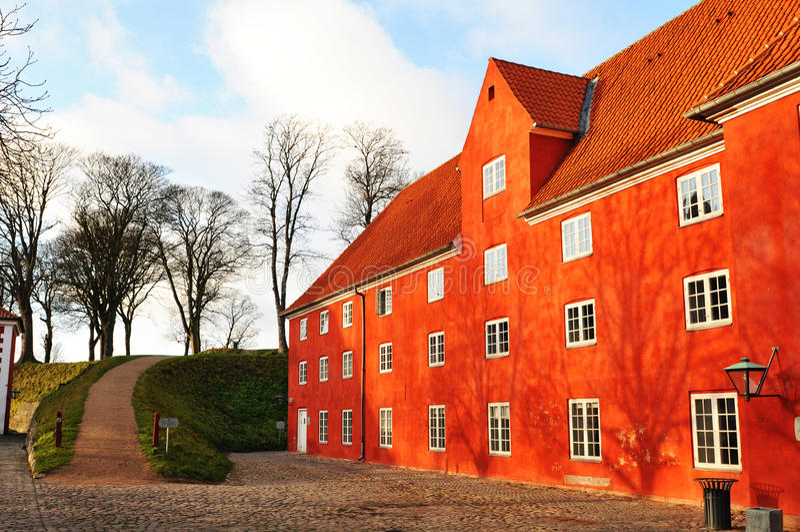 kastellet copenhagen Дании стоковое фото
