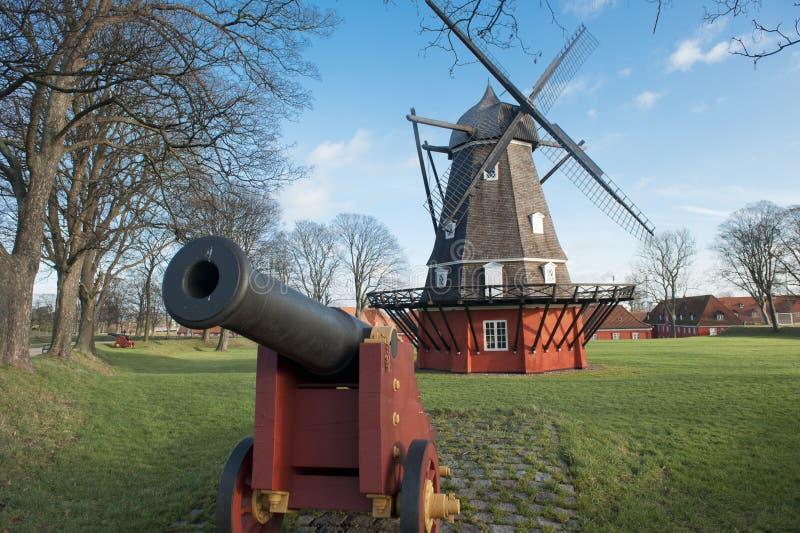 Kastellet Festung in Kopenhagen stockfotos