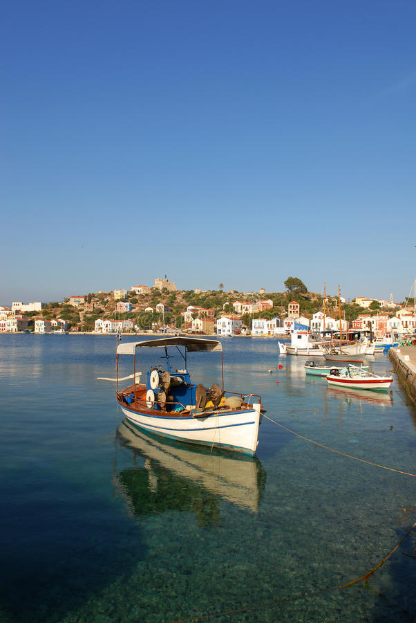 Kastellorizo-Megisti Griekenland stock fotografie