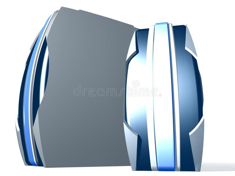 Kasten des PC zwei lizenzfreie abbildung