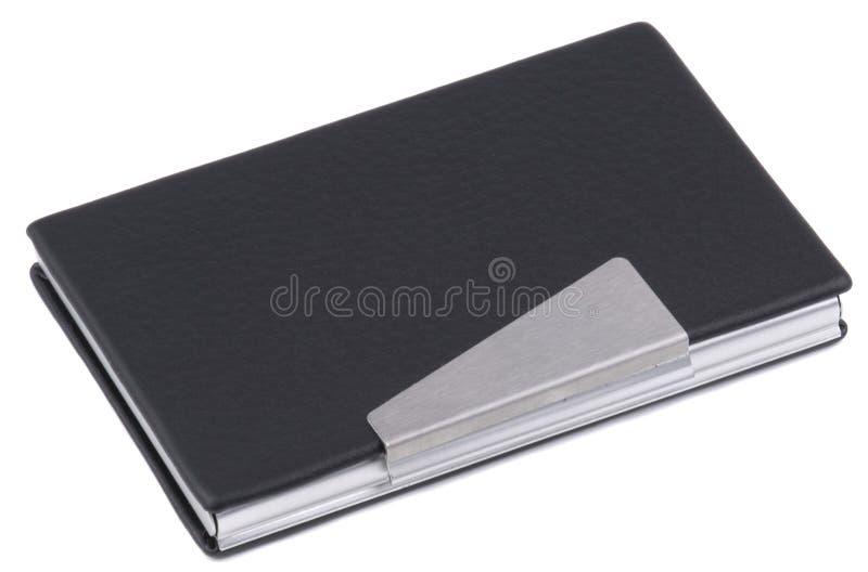 Kasten für Visitenkarten lizenzfreie stockfotografie