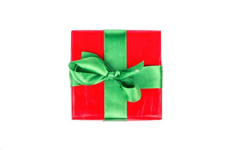 Kasten mit einem Geschenk lizenzfreie stockfotos