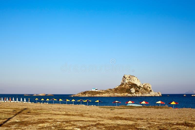 kastri острова малое стоковое фото