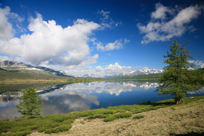 Kastyk-HOL van het meer stock foto's