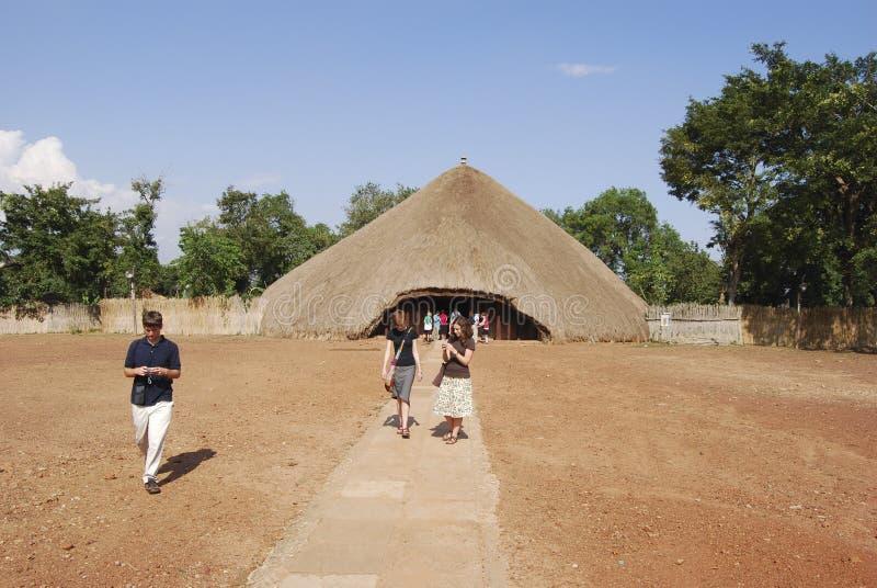 Kasubi Tombs Uganda arkivfoto