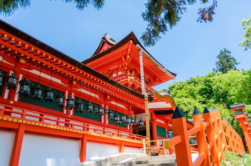 Kasuga Taisha en Nara foto de archivo libre de regalías