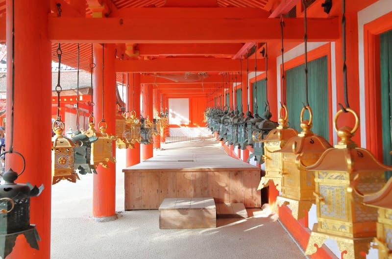 Kasuga Taisha przybytek Nara park Nara Japonia obraz royalty free