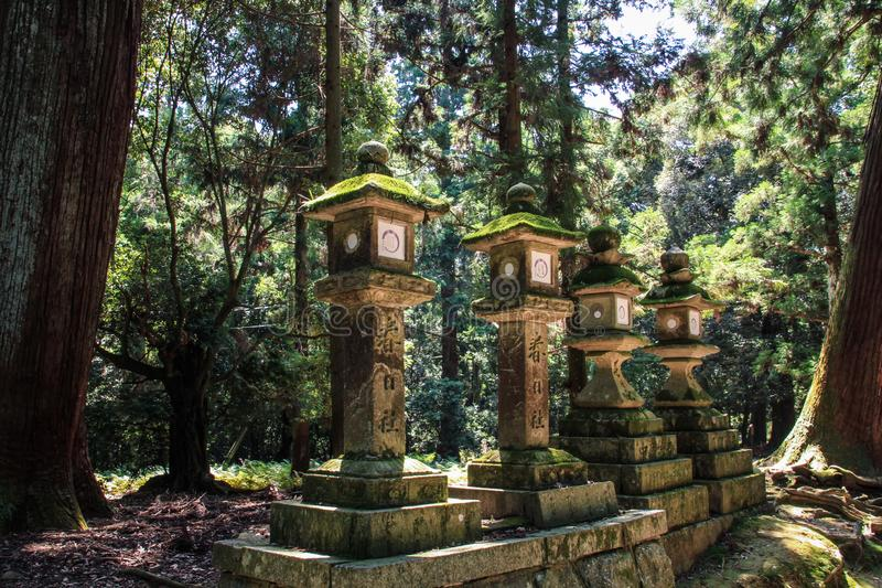 Kasuga-taisha, Schrein von tausend Laternen, Nara-Präfektur, Kansai, Japan stockbild