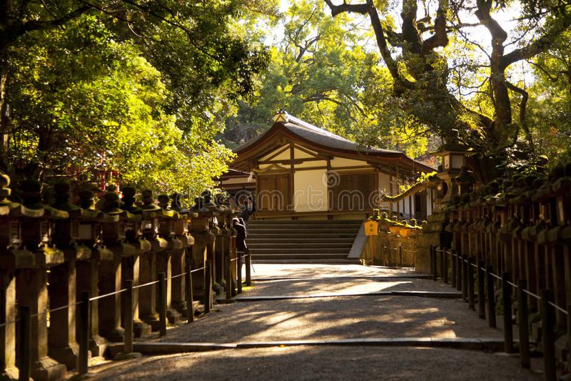 Kasuga Taisha shrine stock image