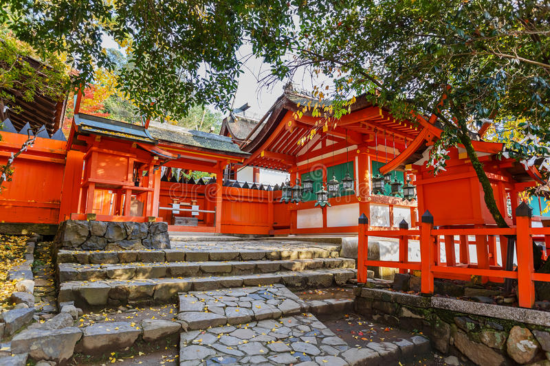 Kasuga Taisha shrine in Nara royalty free stock photography
