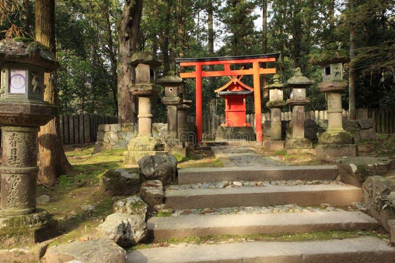 Kasuga Taisha Shrine, Nara,Japan stock image