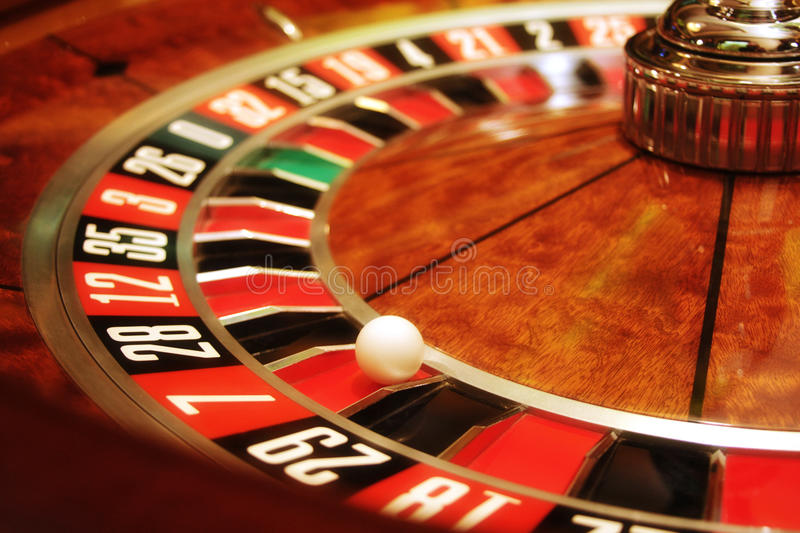 kasyno ruleta obraz royalty free